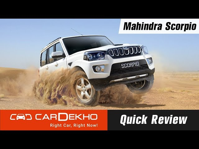 Mahindra Scorpio Specifications & Features, Configurations, Dimensions