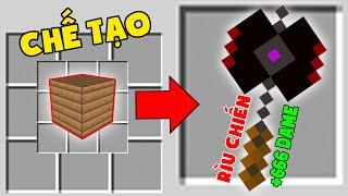 Minecraft Đảo Lộn #5 : Gỗ Chế Tạo Ra Rìu Chiến Vip ??