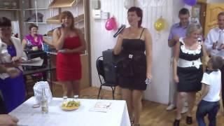 Свадебное поздравление от сестренок Иришки и Янусика