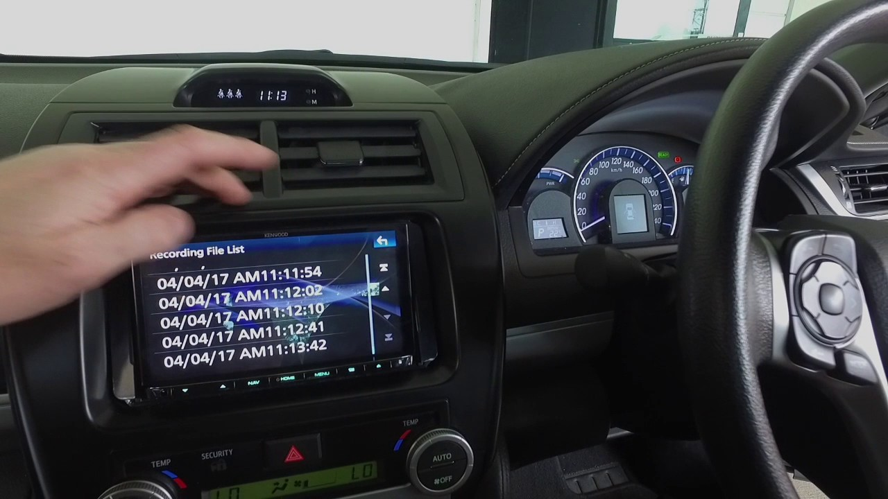 Review Kenwood Drv N520 Dash Camera Driver Recorder With Adas Youtube