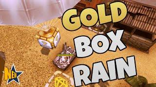 MEGA GOLD-BOX RAIN | Tanki Online