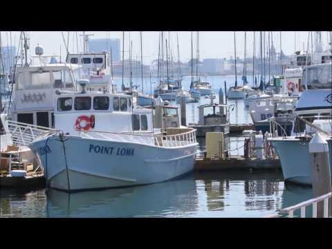 Fisherman's Landing, Point Loma, San Diego Urban Sketchers 2017