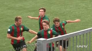 ONTV: TERNANA U-FROSINONE Campionato Primavera (1-0)