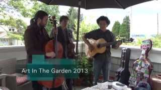 Art In The Garden - Kathleen Crick Garden, Partick Ernst Trio, Teresa Wegryzn, Danyne Johnson