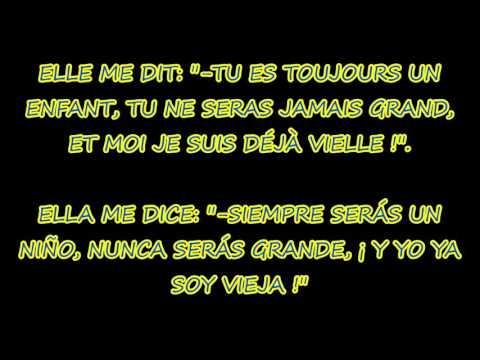 ELLE ME DIT (Mika)   Letra en Francés y Español   Paroles Français-Espagnol