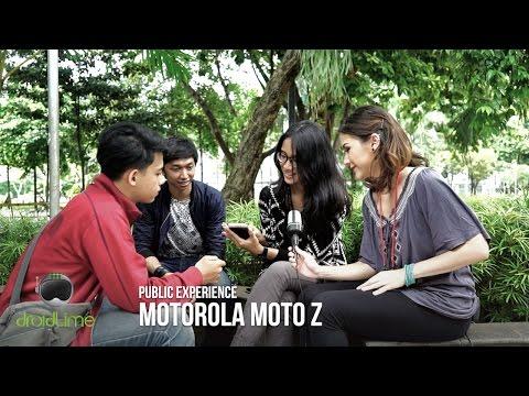 Motorola Moto Z Public Experience