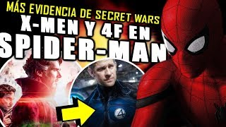 ¿MÁS EVIDENCIA? Spider-Man Far From Home confirma Secret Wars en Avengers 4 Endgame | TEORÍA