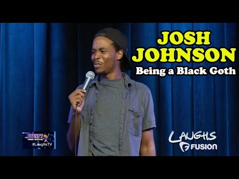 Being A Black Goth Kid | Josh Johnson | Stand-Up Comedy - YouTube