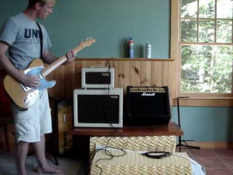 Messing around on the Vox AC4TV - YouTube