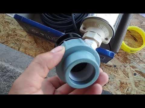 Скважинный насос Водолей. Как установить и подключить.