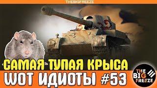 WOT ИДИОТЫ #53 | Самая тупая крыса [WORLD OF TANKS]
