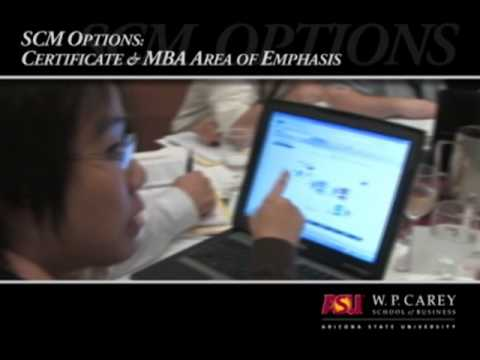 Online Supply Chain Education at ASU's W. P. Carey School