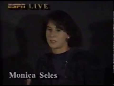 May 5 1993 - Monica Seles press conference