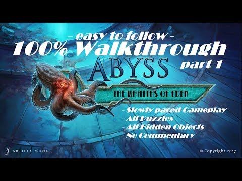 ABYSS: THE WRAITHS OF EDEN - 100% Walkthrough: Part 1 (Platin Trophäe / 1000G Erfolg Guide)