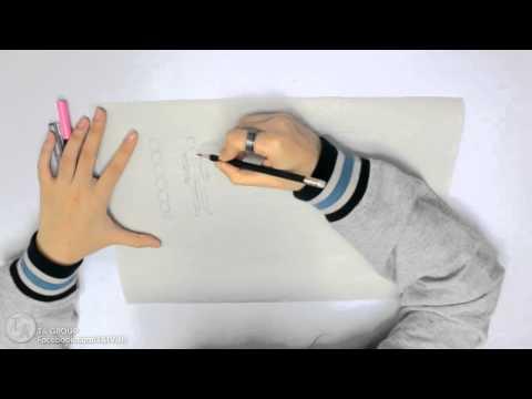 สอนวาดรูปการ์ตูนเบื้องต้น - วาดตัว