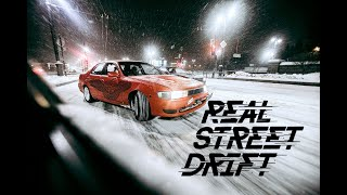 REAL STREET DRIFT - WINTER 4K