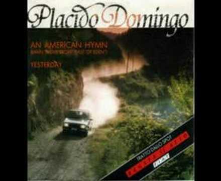 Placido Domingo - An American Hymn - 1986