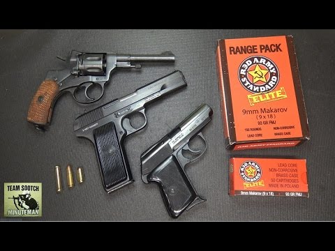 Eastern Bloc Surplus Pistols : Nagant, Tokarev & Makarov P-64