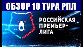 Футбол Российская футбольная премьер лига 2021 2022 Обзор 10 тура РПЛ