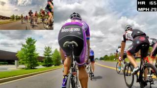 HD 2016 Road Bicycle Racing - Criterium Racing (Trainer/Rollers)