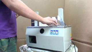 Bandpack Autobanding machine 20mm paper tape www.bandpack.com.tw