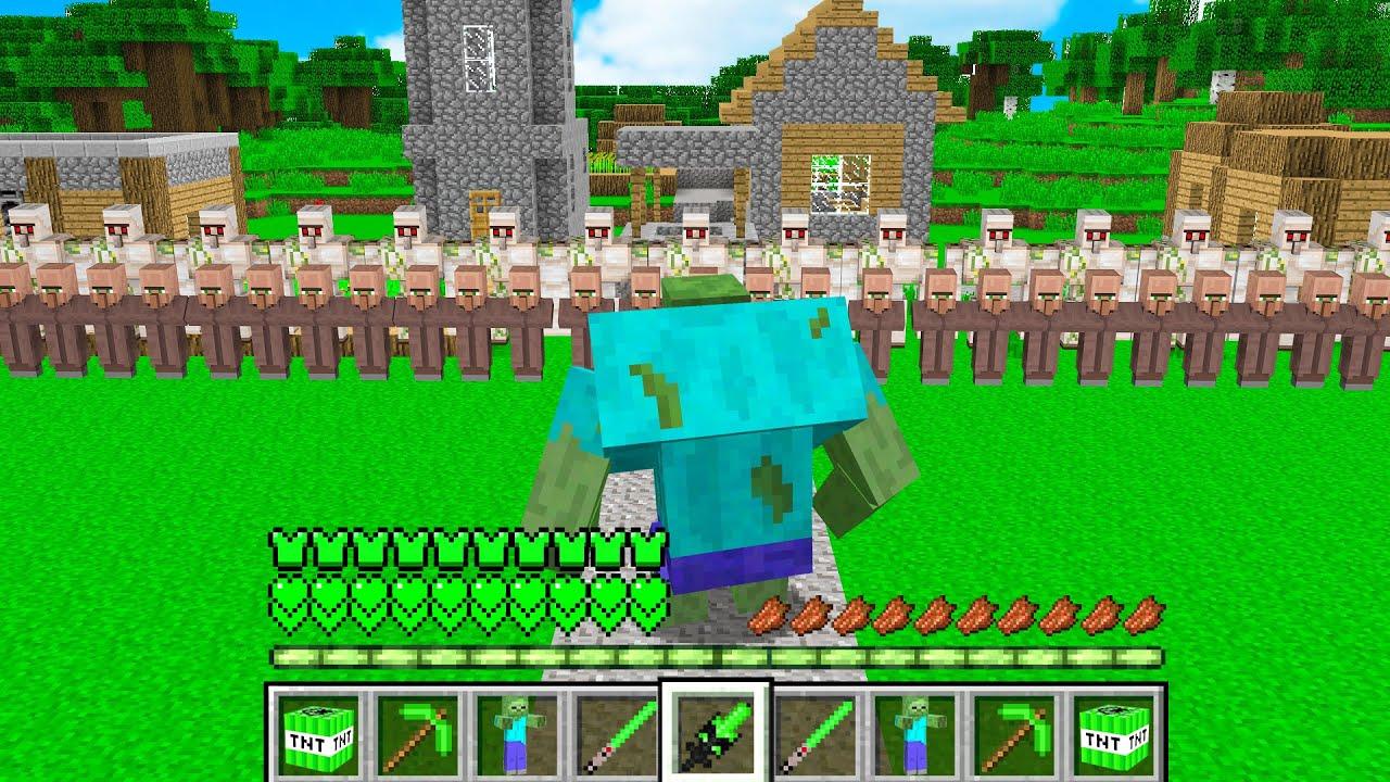 ISMETRG MUTANT ZOMBİ OLDU 😱 - Minecraft