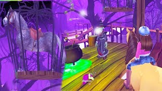 Magic Witch Trapped Horse ! Halloween Star Stable Online Game Quest Let's Play Video