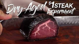 Download Can DRY AGE save a $1 Steak? | Guga Foods Mp3 and Videos