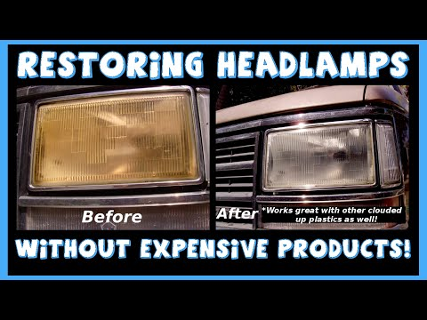 How To Restore Headlight Optical Clarity(Remove Yellow Haze)