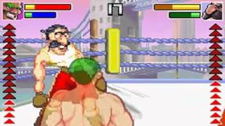 Punch King sur GameBoy Advance