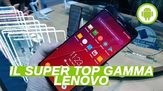 Lenovo Z5 PRO GT: Snapdragon 855, 12 GB di RAM, slider - Anteprima MWC 2019