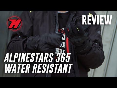 Guantes de moto Alpinestars 365 Water Resistant, los guantes 4 en 1 😱
