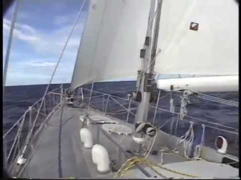 Sailing from the Marquesas to San Diego on a record breaking trip.