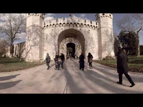 360 video: Gate of Salutation - Topkapı Palace, Istanbul, Turkey