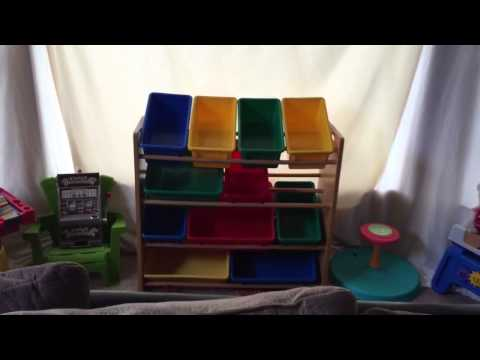 Toy Storage Solutions on a budget!