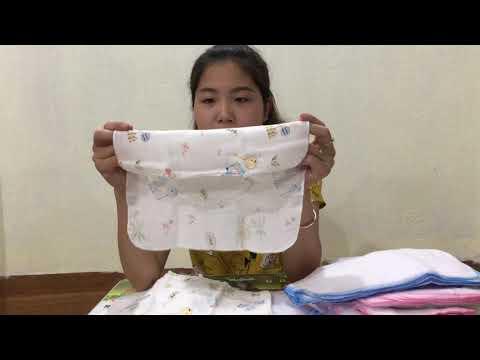 Khăn sữa là gì ? Các loại khăn sữa, khăn tắm, tã lót xô cho bé sơ sinh và hướng dẫn cách sử dụng