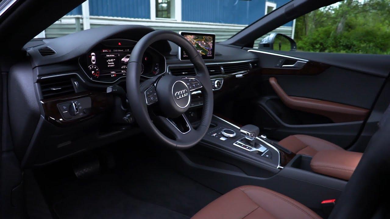 Nice 2018 Audi A5 Sportback   Interior (US Spec)