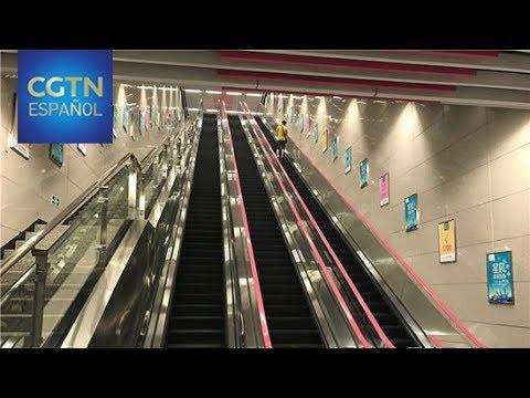 Chongqing construye la estación de metro más profunda de China