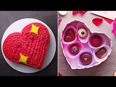Valentine's Day Special | Easy Dessert Recipes And DIY Valentines Day Treats | So Yummy Mp3