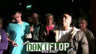 DON'T FLOP - Rap Battle - Redzer Vs MC Dubh *Grudge Match*