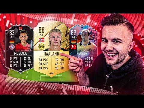 Das BESTE BUNDESLIGA STARTER TEAM für FIFA 22 🔥 Bundesliga Squad Builder 💸