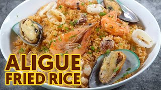 Aligue Fried Rice | Easy Seafood Rice | Pinoy Recipe
