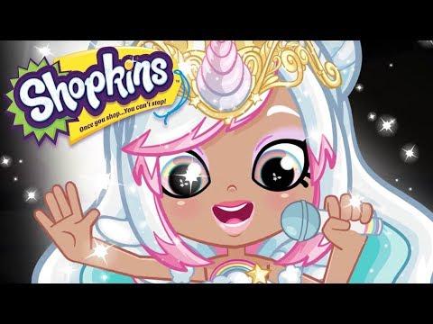 SHOPKINS Cartoon - SPARKLING SHINY SINGER | Cartoons For Children