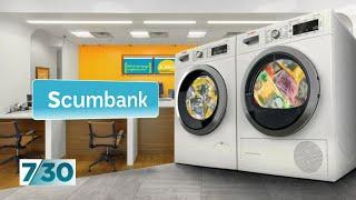 Meet the CEO of Scumbank, Australia's dodgiest bank | 7.30