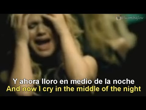 Kelly Clarkson - Because of You [Lyrics English - Español Subtitulado]