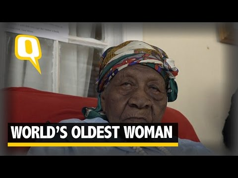 The Quint: 'Work Hard to Live Long' Says World's Oldest Woman Violet Brown