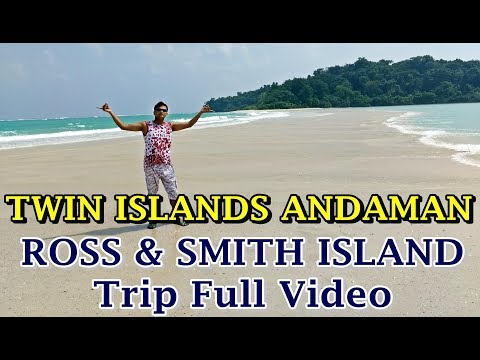 Twin Islands Andaman | Ross & Smith Island Andaman | Sand-Bar connects Smith & Ross Islands Diglipur