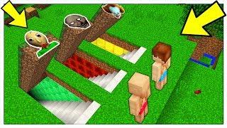 NON ENTRARE NEL PASSAGGIO SEGRETO SBAGLIATO! - Minecraft ITA