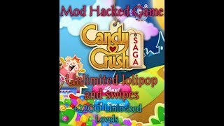 How to install mod apk candy crush and connect to facebook