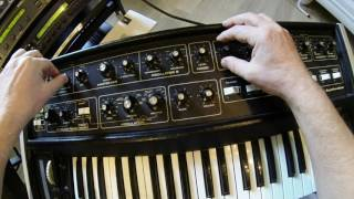 multimoog (modified) demo 01